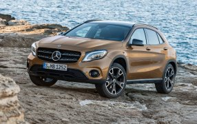 Mercedes GLA Tipo 1 Facelift