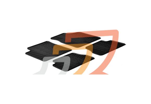 Tappetino vasca con antiscivolo per KIA Picanto II dal 2011