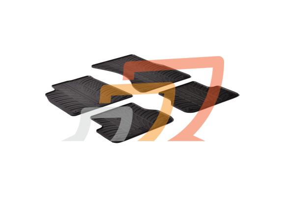 Tappetini e Vasca Baule per AUDI A6 C7 Avant 2011 in poi su misura in gomma